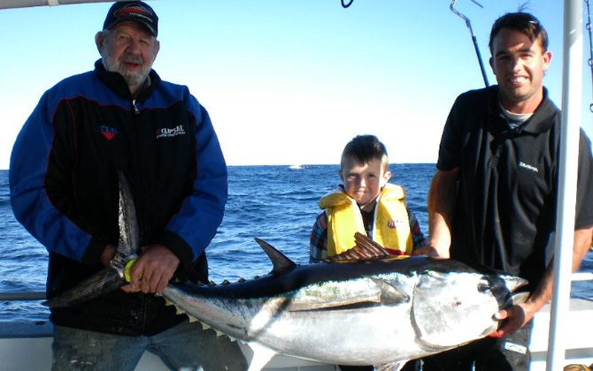 family fishing narooma