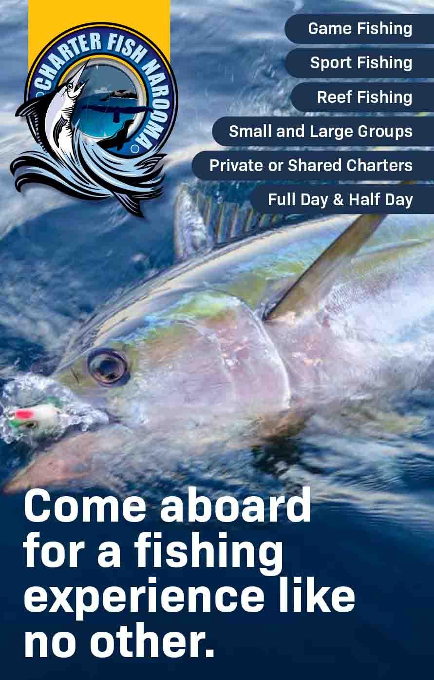 Charter Fish Narooma Brochure