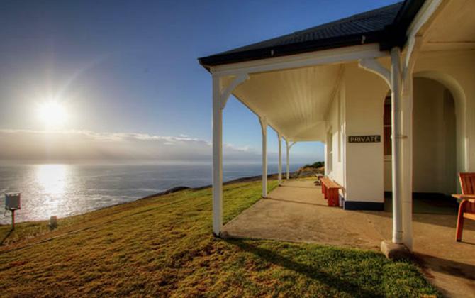 Montague Island house